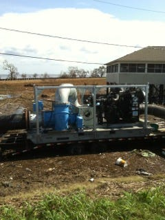 Ouachita Parish is expected to remove remaining temporary pumps within the next few weeks.