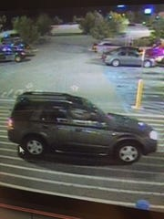 A vehicle belonging to a man who allegedly inappropriately touched two women at a Cheswold-area Wal-Mart last week.