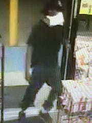 Suspect in Dollar General store robbery.