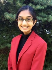Shyamala Subramanian, a student at John P. Stevens High School.  She was elected to serve as a national office for Family Career and Community Leaders of America for the 2016-17 school year.