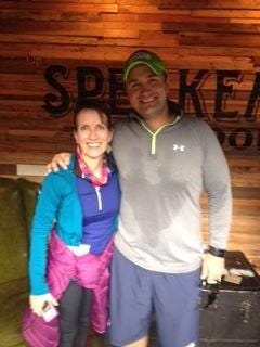 Jane and Lars Bouge will be running in the international half marathon on Oct. 16.