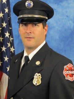 Oxnard Fire Department Capt. Scott Carroll