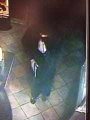 Surveillance from Carl's Jr. robbery in Shreveport.