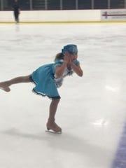 Skater Daria Hinkle