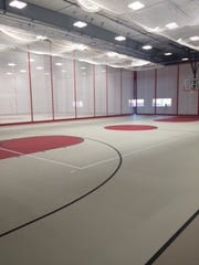 West Forks Schools built a school-community gym with a combination of sales tax money, local grants and a business donation.