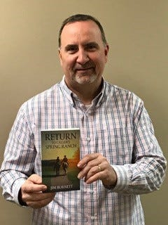 Jim Burnett, pastor of Hattiesburg's Willow Pointe Church, is the author of two Christian novels set in the West.