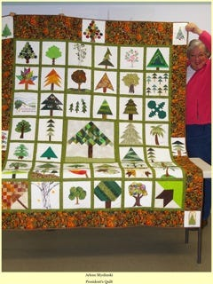 The Hill 'N Hollow Quilters Guild quilts will be on display for the month of August at The Sheid on the ASUMH campus. The show will run from July 31-Aug30.