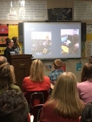Everest's Advanced Historian students presented their