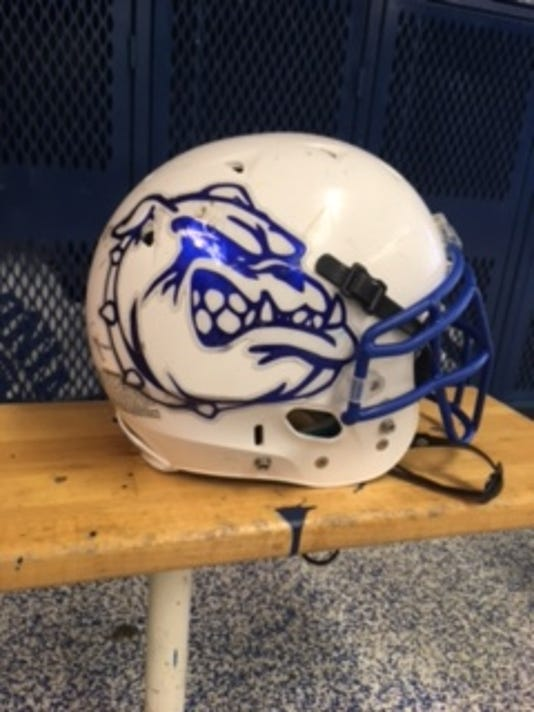 IONIA FOOTBALL HELMET