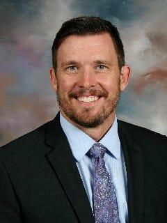 Chris Swenson, superintendent of Holdingford school district
