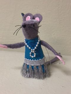 """Franny Flapper"" mouse"