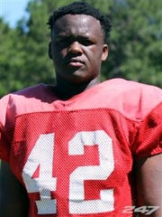 John Mincey, a defensive end from Clinch County High