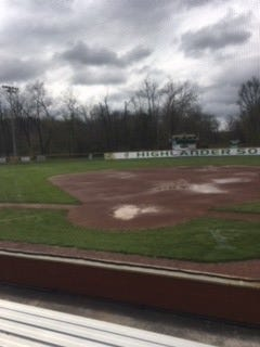 Floyd Central High School's softball field has flooded twice in the last year.