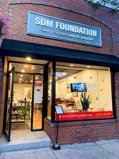 SDM Foundation is located at 465 Main St. in Melrose and provides free workshops and one-on-one lessons to people of all ages regarding technology.