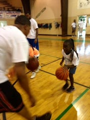 Councilman Johnny Dodd held a free basketball camp for youth in the community on July 26.