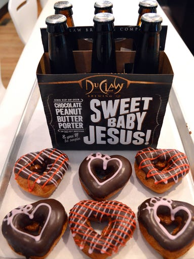 Beer and doughnuts: What's not to love?