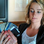 Abandoned credit cards? Not too uncommon