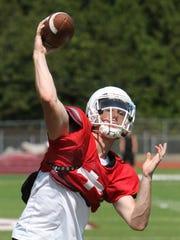 Garrison Glisson threw for 1,031 yards and 15 touchdowns
