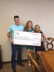 Brandon McCay, active duty military, receives his Homes
