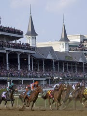 """Watch """"the most exciting two minutes in sports"""" Saturday during the annual Kentucky Derby."""