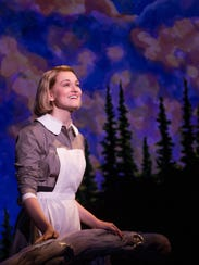 Kerstin Anderson fills the role of would be-nun, Maria,