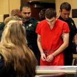 Judge enters not guilty plea for Florida school shooting suspect