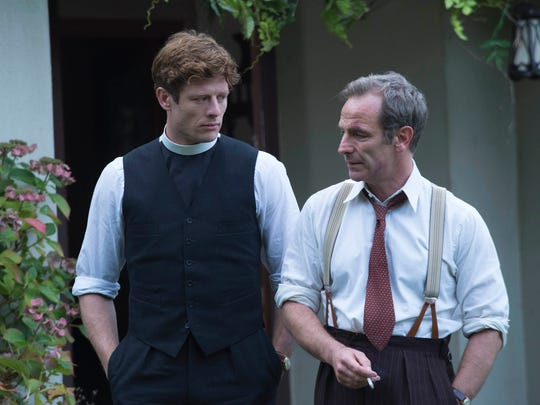 James Norton and Robson Green wrap up the second season
