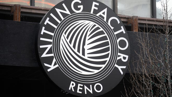 The Knitting Factory on Virginia Street in downtown Reno.