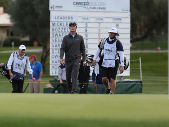PGA Tour golfer Danny Lee participated in the CareerBuilder Challenge golf tournament in 2016.