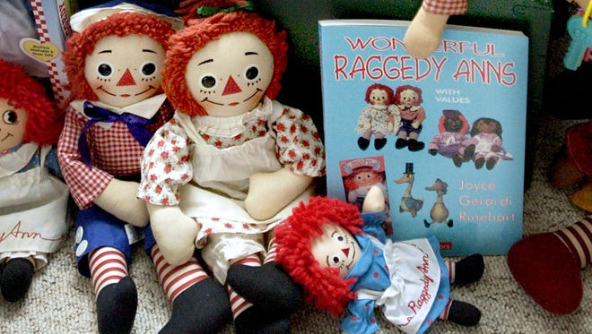 The Raggedy Ann doll was patented in 1915 and has since become a loved collectible for fans.