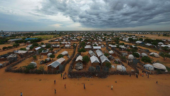 This is part of the IFO-2 refugee camp in Dadaab on April 28, 2015.