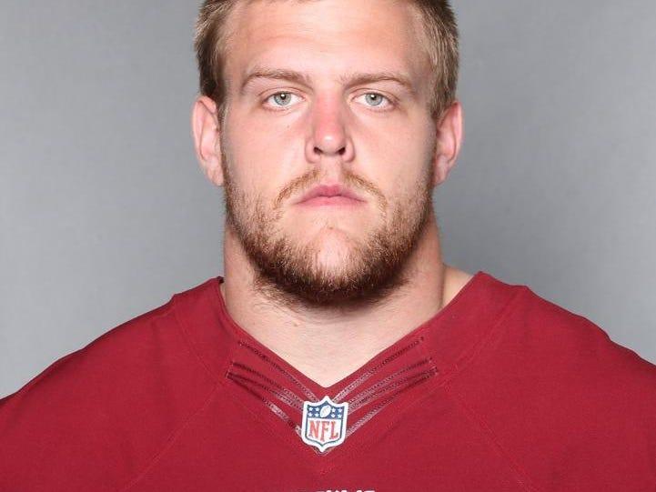 Denison's Brandon Scherff was a first-round pick of the Washington Redskins in April.