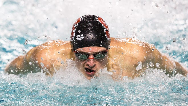 York Suburban graduate Coleman Stewart has quickly become a key member of the North Carolina State men's swimming team, which is ranked first in the College Swimming Coaches Association of America poll.