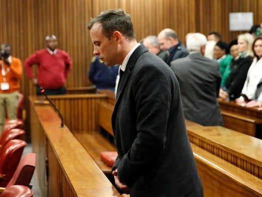 South African Paralympian athlete Oscar Pistorius,