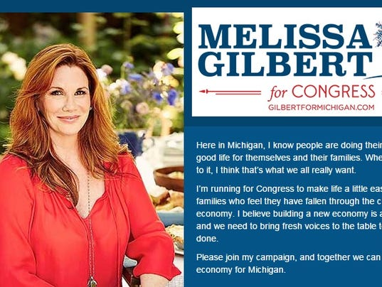 Image result for melissa gilbert for congress