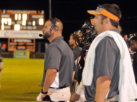 Union Parish head coach Joe Spatafora led his team to an undefeated District 1-3A championship for the fourth straight year with a win over Richwood Friday night.