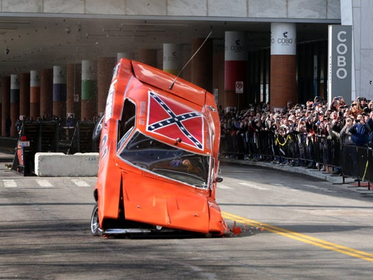 Dukes Of Hazzard Car Jumps Ramp Crash Lands