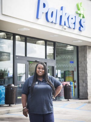 Carly Bennett, store manager, Parker's #27