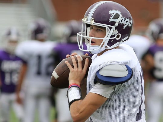 Brownsburg QB Hunter Johnson is considered one of the top high school QBs in the nation.