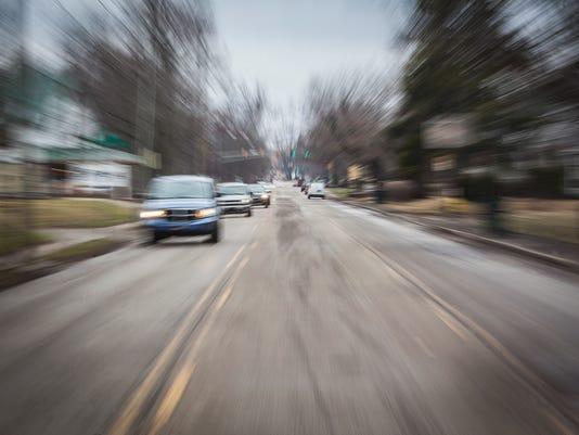 Traffic on Wheeling in 2015