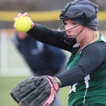 Bishop Brossart pitcher Karlie Shackelford finished her career third on the school's all-time list with over 80 wins and in the top-10 in career RBI.