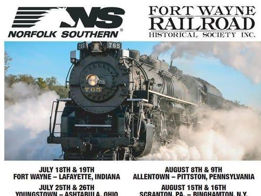 NS NKP 765 Excursion Schedule 2015