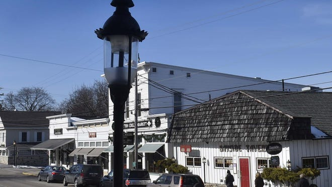 Among the improvements slated for Fish Creek is the street lighting.