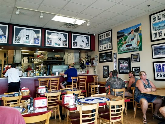 Inside Bobby's Pizza is at  6514 N.W. Selvitz Road