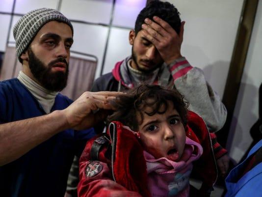 EPA SYRIA WAR BOMBING WAR ARMED CONFLICT SYR