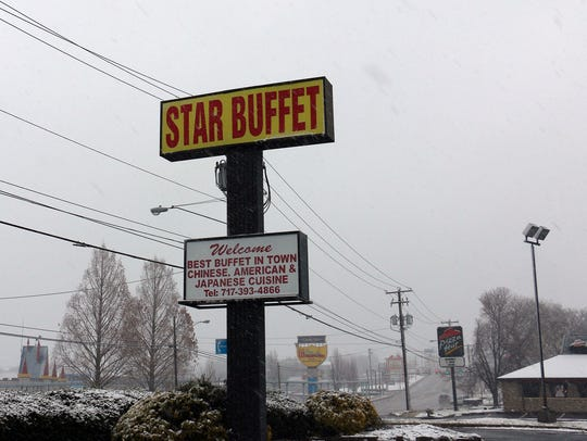 Star Buffet on Lincoln Highway East.