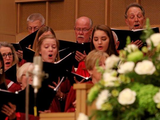 "The First Presbyterian Church Sanctuary Choir and the First United Methodist Church Chancel Choir perform Handel's ""Messiah"""