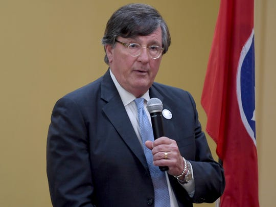 Tennessee gubernatorial candidate Craig Fitzhugh participated in a forum hosted by the Jackson Exchange Club, Tuesday, June 12.