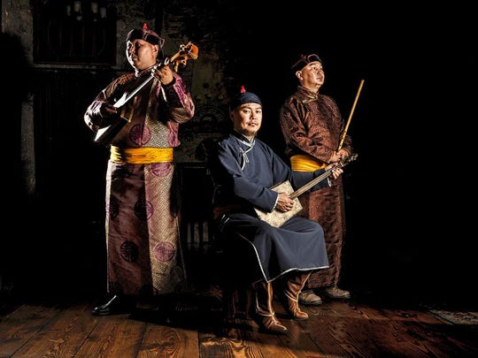 Alash Ensemble will perform traditional music and throat singing at the John Michael Kohler Arts Center Oct. 7-8.