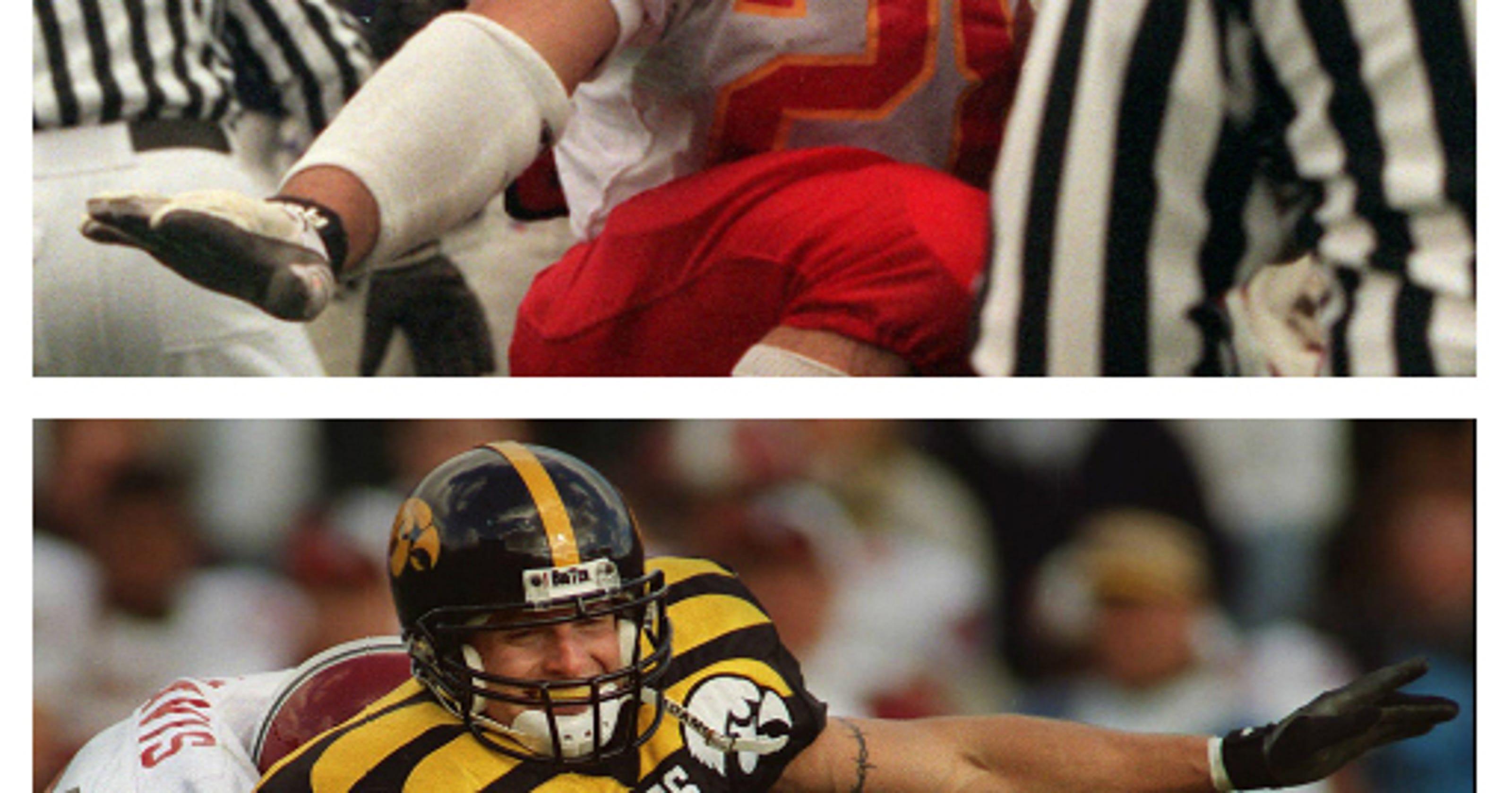 Iowas Dwight Isus Davis On College Football Hall Of Fame Ballot